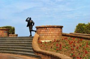 Morecambe Statue